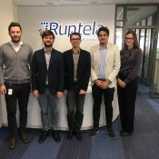 Meeting with Project Officer Marco Rubinato